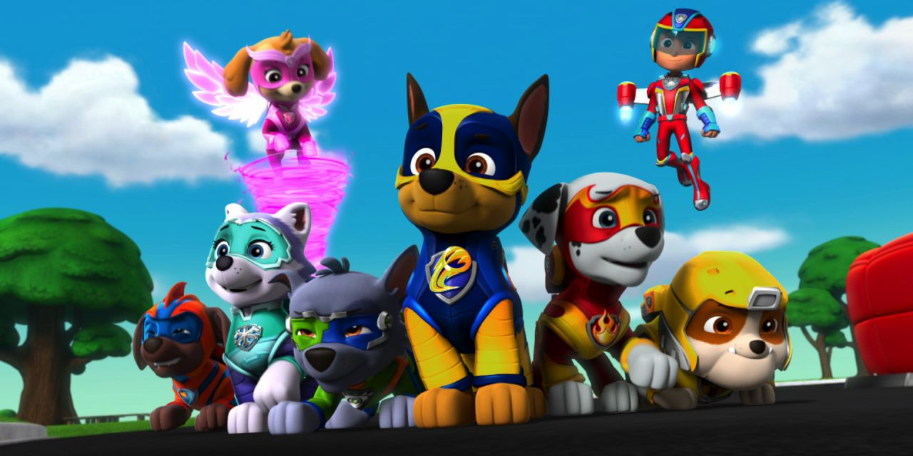 Image forPaw Patrol: Mighty Pups - The Movie